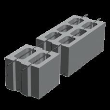 Блок М-75 (400х200х200). Золотой Мандарин