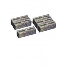 Блок малый декоративный для столба М-200 300х300х100 (скол 2 сторон). Золотой Мандарин