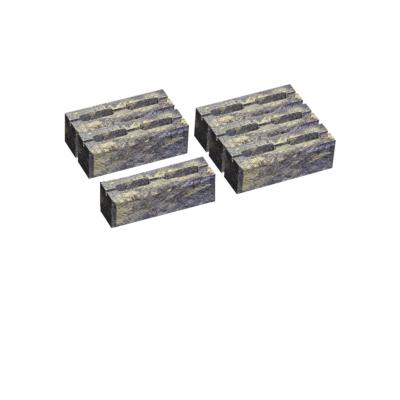 Блок малый декоративный для столба М-200 300х200х100 (скол 2 сторон). Золотой Мандарин