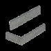 Облицовочный камень Леванто (угловой элемент). Золотой Мандарин