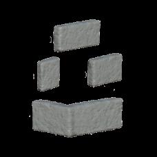 Облицовочный камень Меотис (угловой элемент). Золотой Мандарин