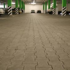 Тротуарная плитка Двойное Т h60. Золотой Мандарин