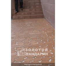 Тротуарная плитка Маргарита без фаски. Золотой Мандарин