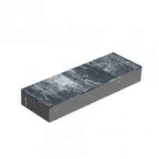 Тротуарная плитка Паркет без фаски. Золотой Мандарин