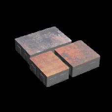 Тротуарная плитка Плац h60 без фаски. Золотой Мандарин