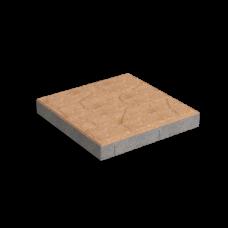 Тротуарная плитка Плита (300х300). Золотой Мандарин
