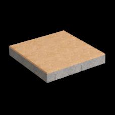 Тротуарная плитка Плита (400х400) без фаски. Золотой Мандарин