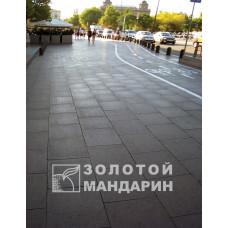 Тротуарная плитка Плита (600х600). Золотой Мандарин