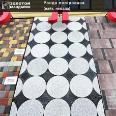 Тротуарная плитка Ронда полированная h60. Золотой Мандарин