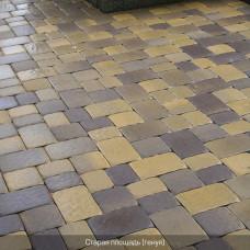 Тротуарная плитка Старая Площадь h40. Золотой Мандарин